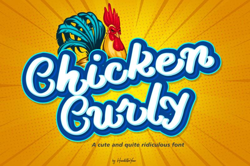 chicken-curly