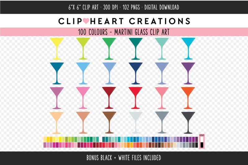 martini-glass-clipart-100-colours