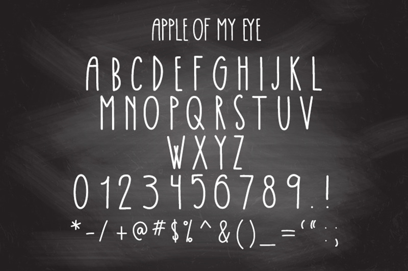 apple-of-my-eye-font