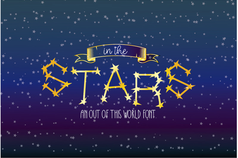 in-the-stars-display-font