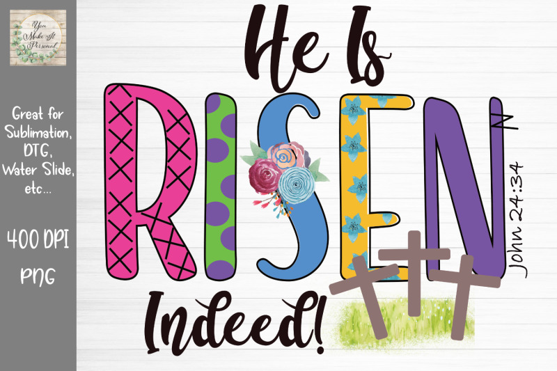 he-is-risen-indeed-easter-design