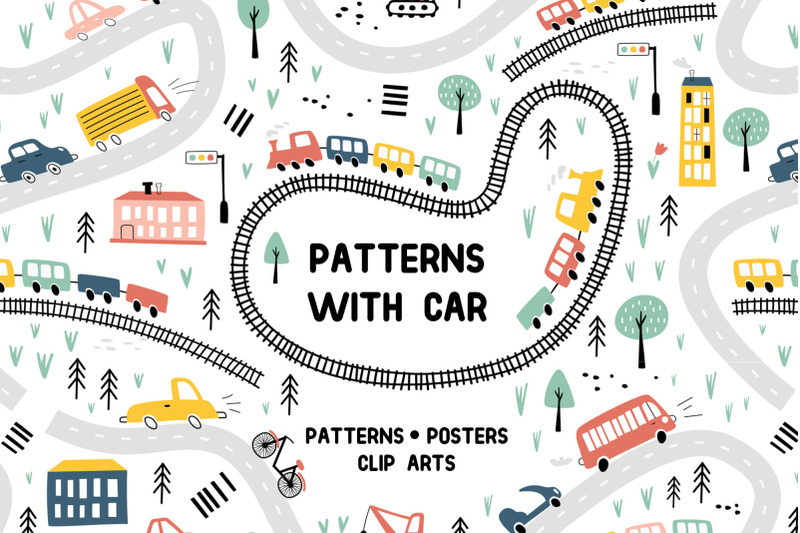 patterns-with-car