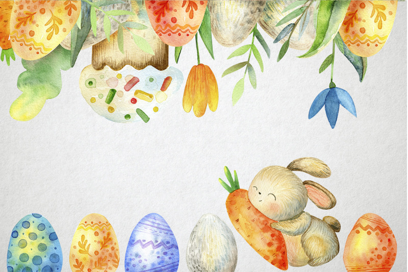 happy-easter-watercolor-set