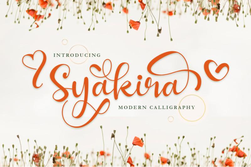 syakira-beautiful-modern-calligraphy
