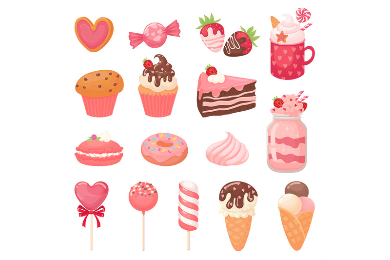 cute-valentines-sweets-heart-lollipop-sweet-ice-cream-and-strawberry