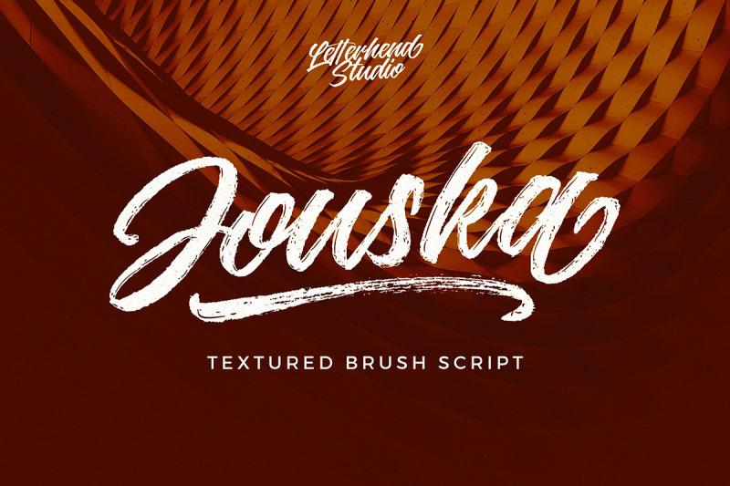jouska-textured-brush-script