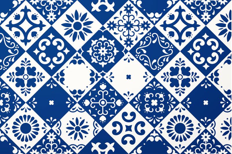 mexican-talavera-tiles-patterns-set