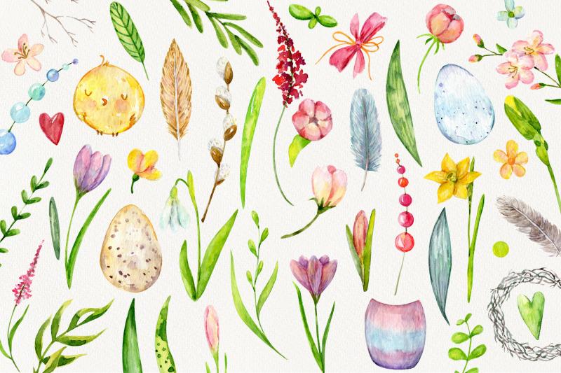 hello-spring-watercolor-set