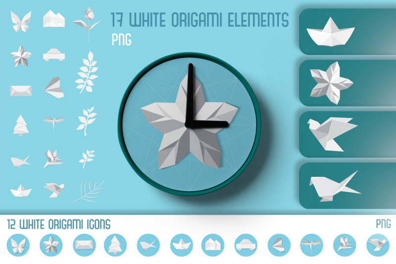 origami-icons-and-elements