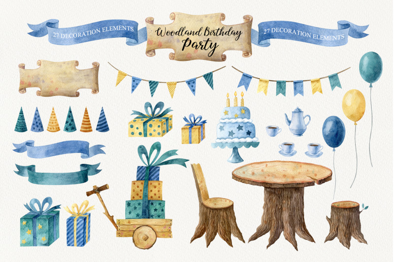 woodland-birthday-party