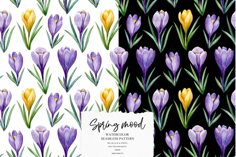 spring-mood-pattern-collection