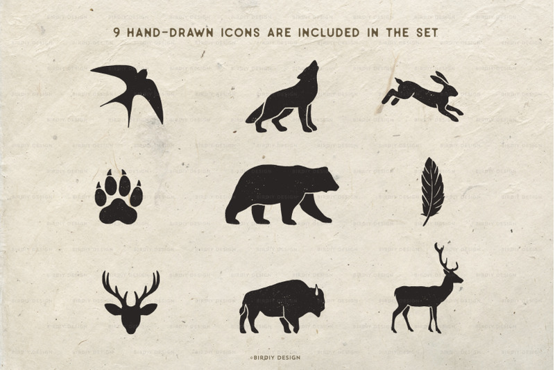 rustic-nature-icons