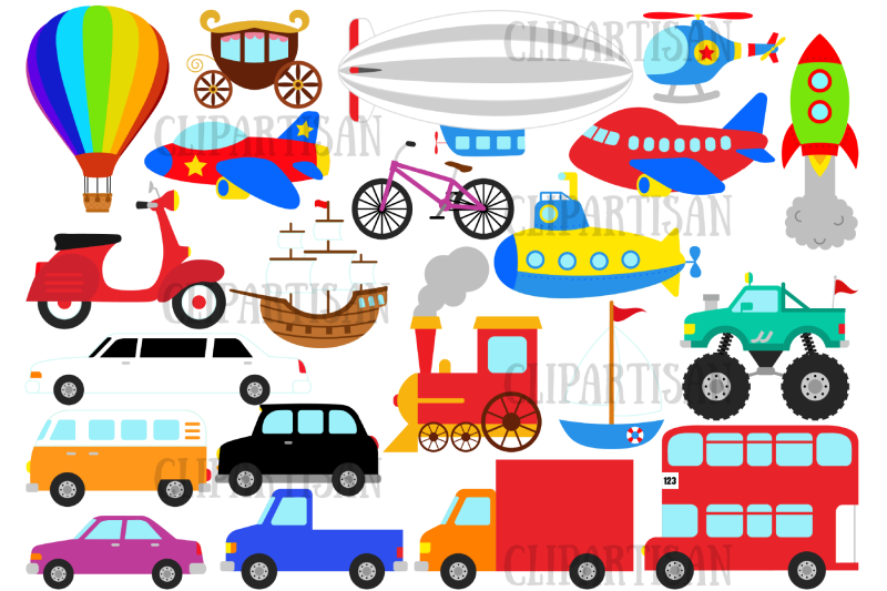 transportation-clipart-trains-planes-and-trucks-clipart