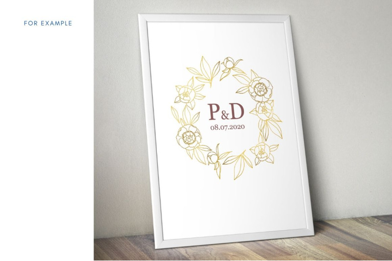 gold-peony-collection-hand-drawn-linear-illustrations