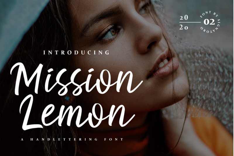 mission-lemon-handlettering-font