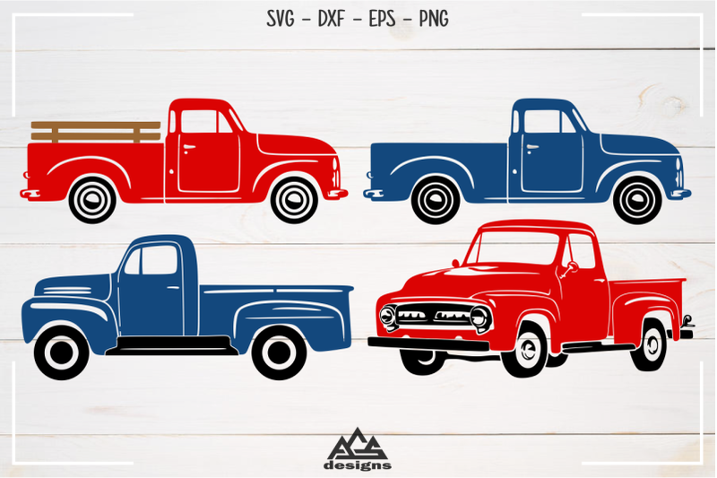 old-pick-up-vintage-car-vehicle-svg-design
