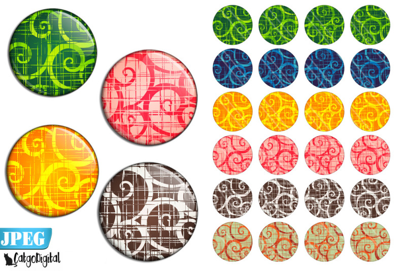 colorful-swirls-bottle-cap-round-images-digital-collage-sheet