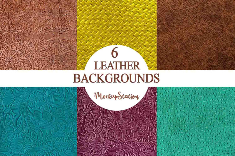 leather-background-bundle-textured-embossed-turquoise-leather-texture