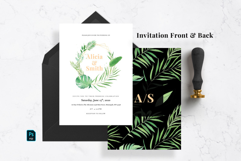 green-tropical-wedding-suite