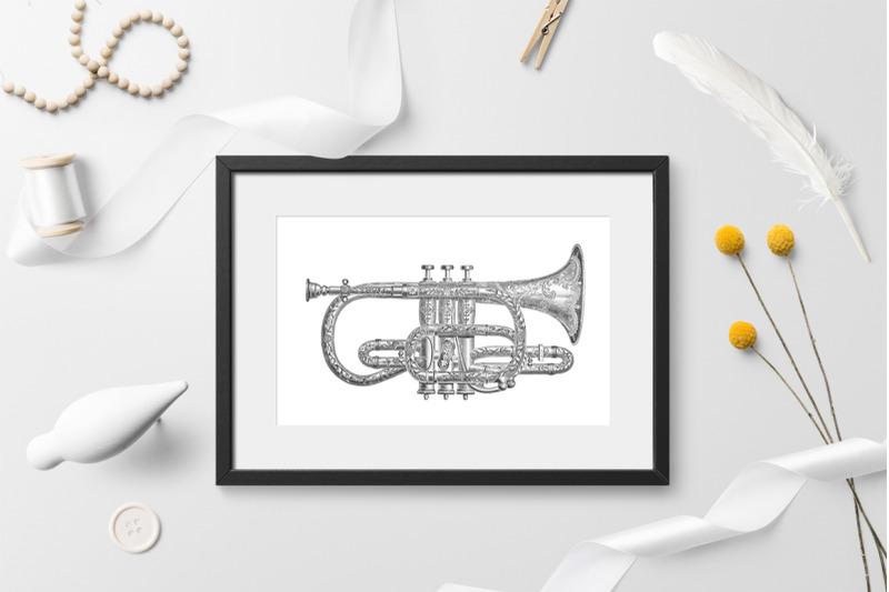 cornet-clipart-music