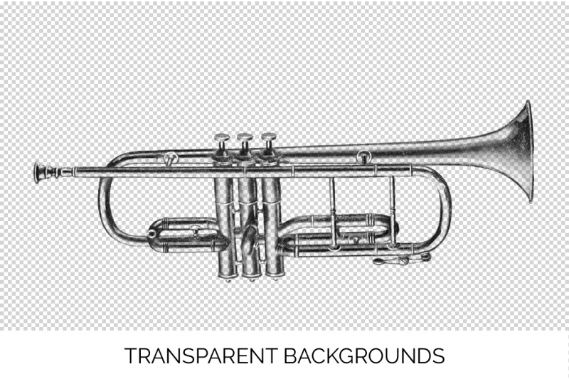 trumpet-clipart-music