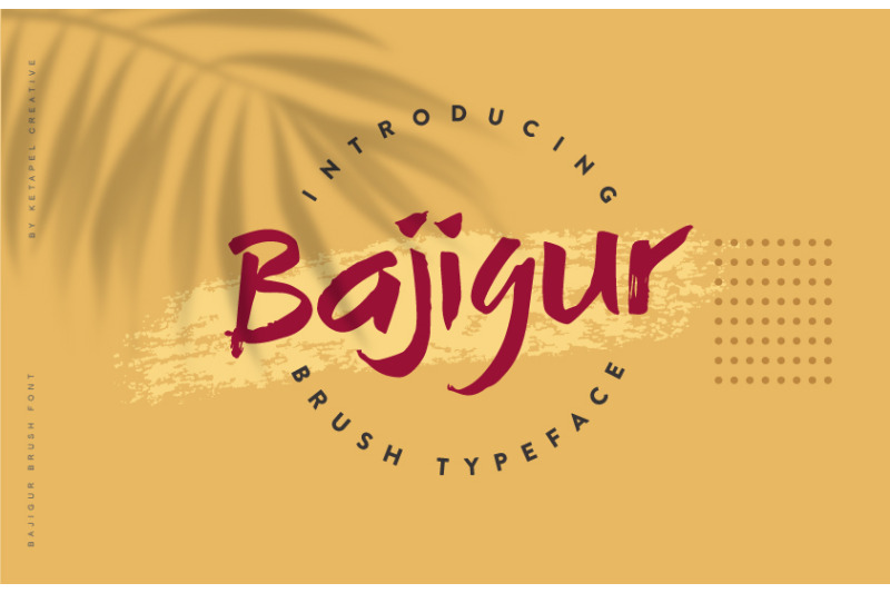 bajigur-brush