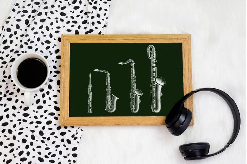 saxophone-clipart-music
