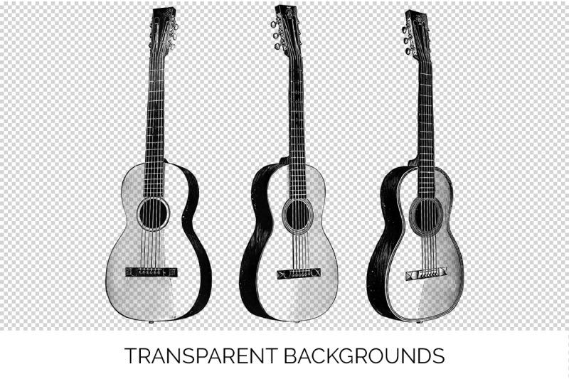guitar-clipart-music-vintage