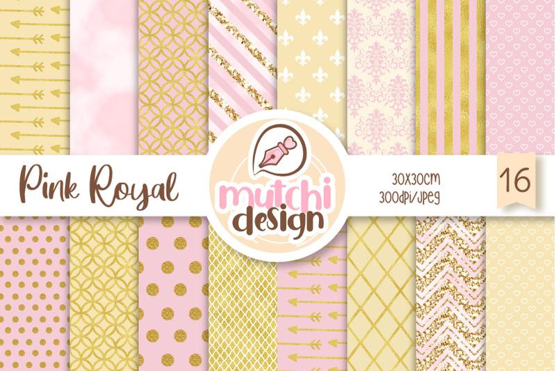 royal-pink-digital-papers
