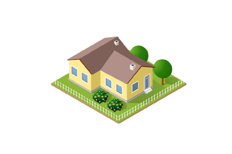 town-house-in-isometric