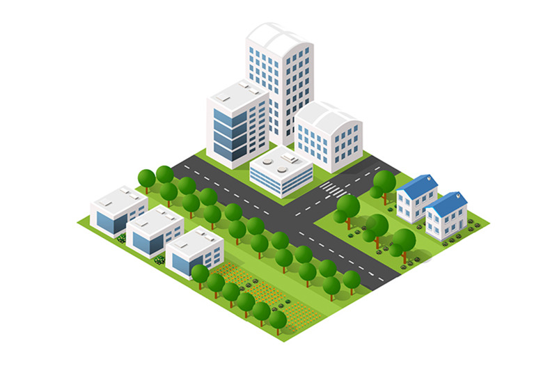 top-view-of-the-cityisometric-perspective-city-with-streets