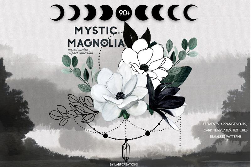 mystic-magnolia-black-white-flowers