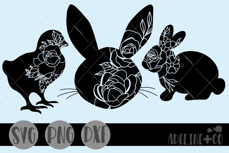 easter-flower-silhouette-bundle-svg-png-dxf