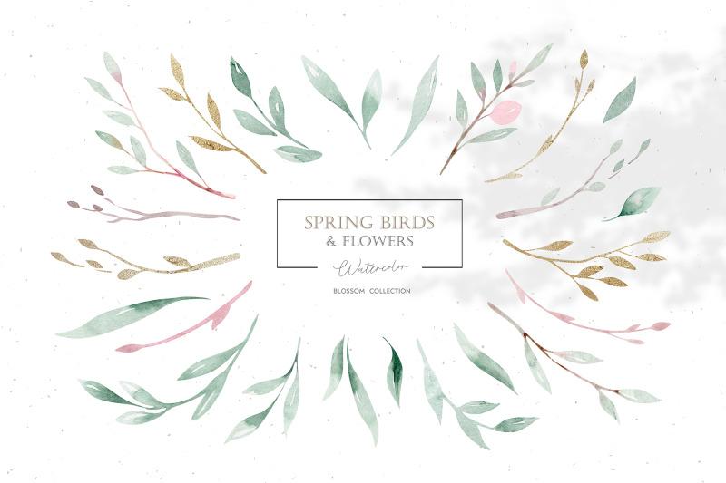 watercolor-spring-birds-amp-flowers