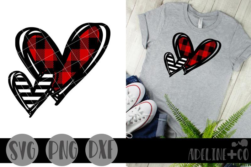 patterned-hearts-svg-png-dxf-valentine-039-s-day