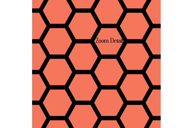 100-seamless-black-and-solid-honeycomb-bee-pattern-papers