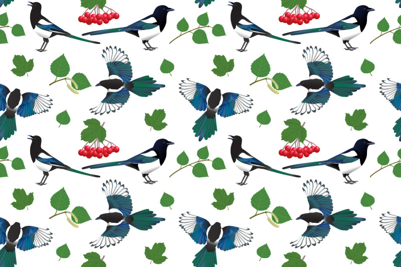 magpie-pattern