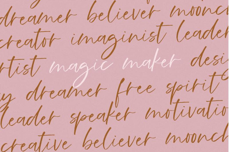 melbourne-handwritten-script-font