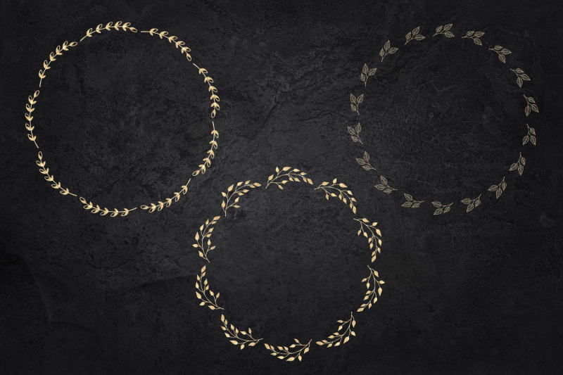 25-gold-wreaths-clipart-delicate-gold-hand-drawn-overlay