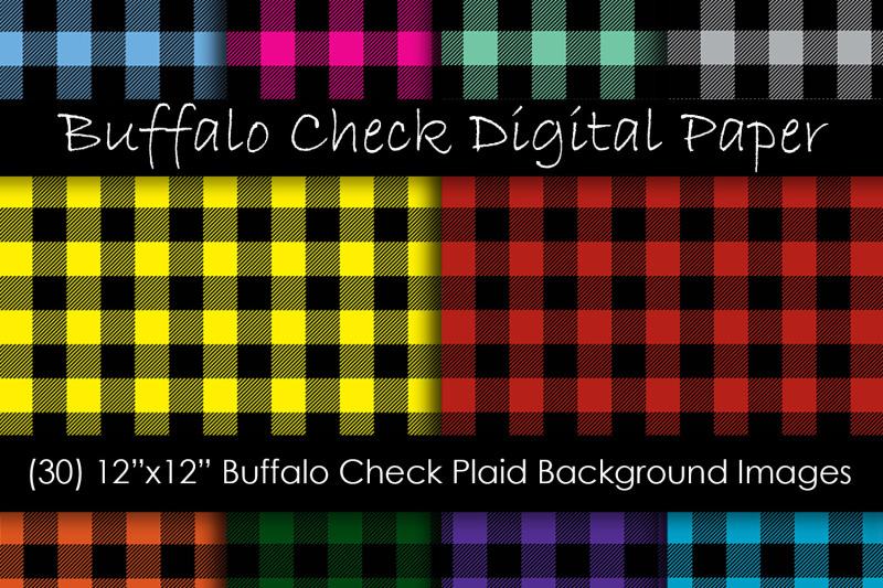 buffalo-plaid-digital-paper-buffalo-check-plaid