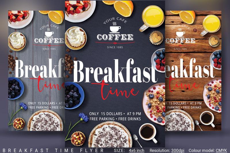 breakfast-time-flyer