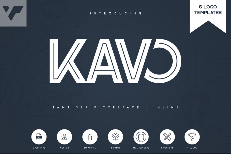 kavo-inline-6-logo-templates