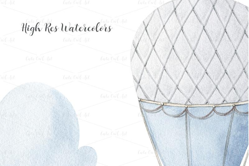 watercolor-hot-air-balloons