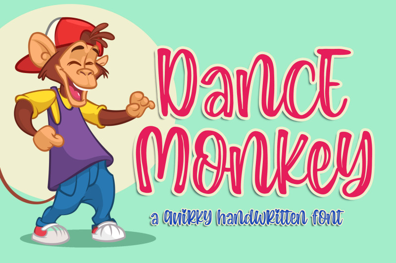 dance-monkey-a-quirky-font