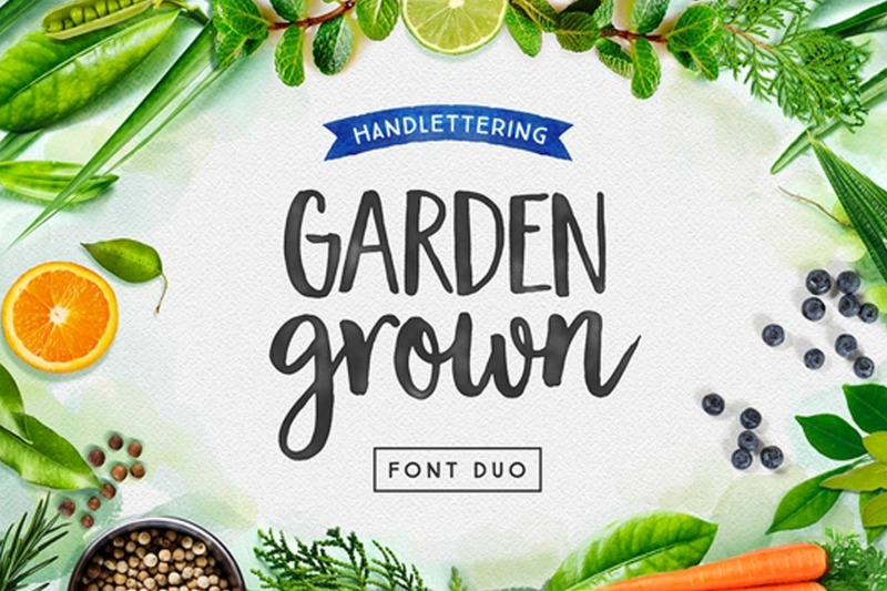 garden-grown