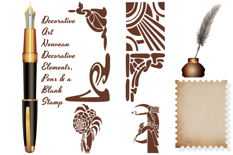 vintage-stationery-postage-and-elements-ai-eps-png