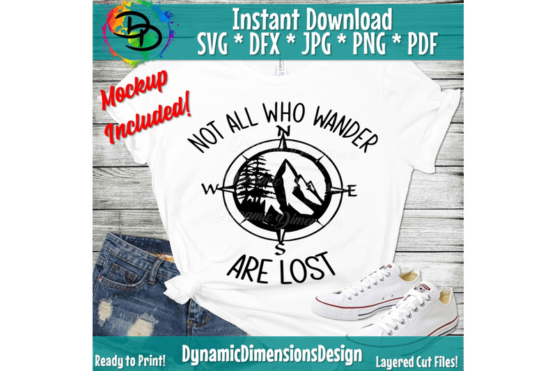 not-all-who-wander-svg-file-compass-svg-hiking-forest-outdoors-ci