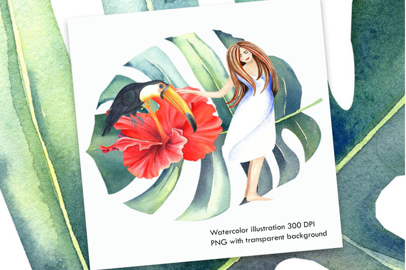 watercolor-tropical-illustration