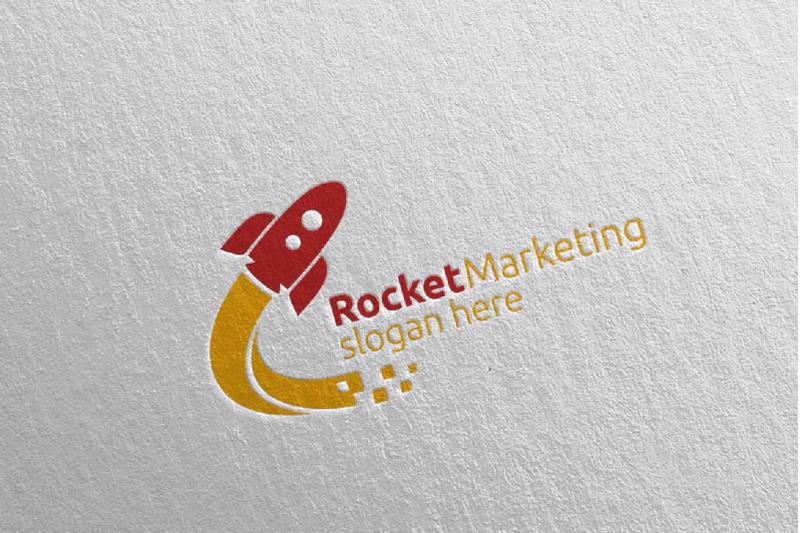 rocket-marketing-financial-advisor-logo-design-45