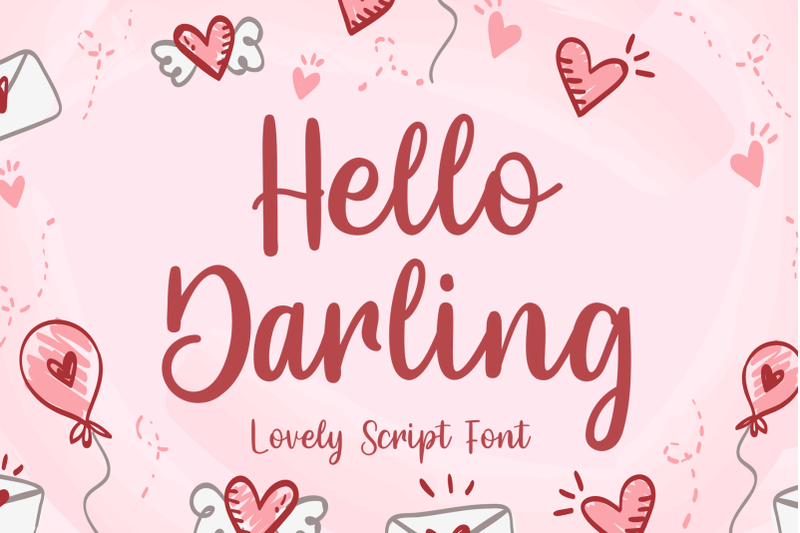hello-darling-lovely-script